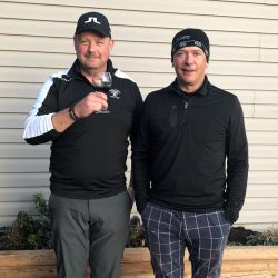 Ironman 2019 Dale and Malcolm Overall Champions